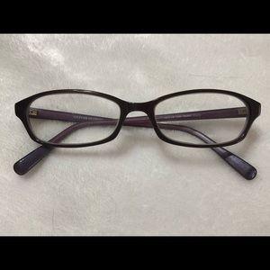 Oliver Peoples purple reading glasses